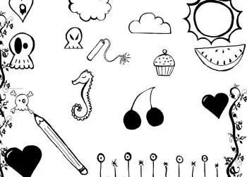Doodle Set 14