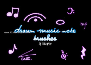 Drawn Music Note