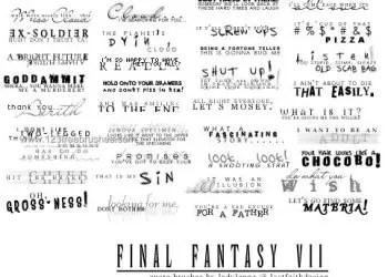 Final Fantasy Quotes