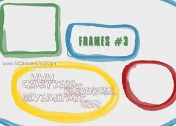 Drawn Doodle Frames