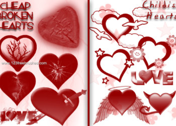 Cute Valentines Hearts