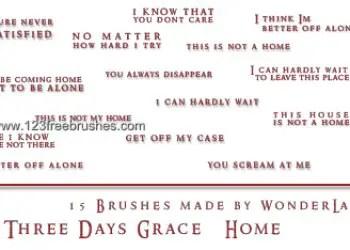 Three Days Grace – Home