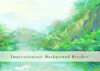 Impressionistic Background