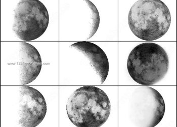Moon Brushes Photoshop