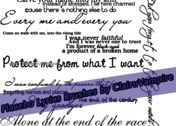 Placebo Lyrics