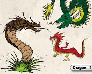 Dragon Vectors -