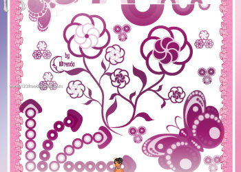 Flower Brushes Photoshop Download