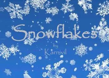 Realistic Snowflakes