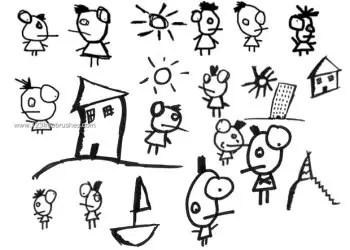 Doodle Cartoon Characters