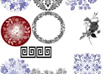 Flower Circle Ornament