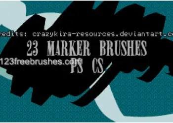 Marker Strokes