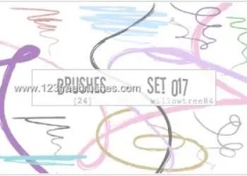 Scribbles Lines 4