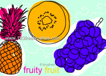 Grapes and Pineapple Fruits