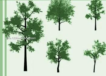 Free Tree Brushes Photoshop