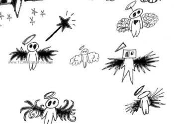 Dark Angel Sketch