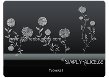 Flower Brushes In Photoshop