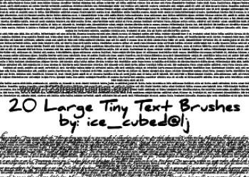 Large Tiny Text