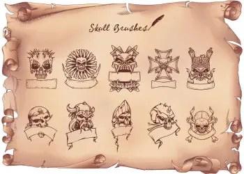 Skull Banners