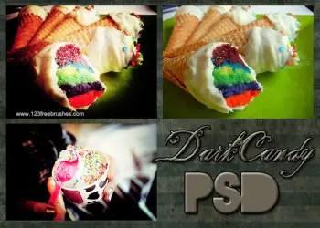 Dark Candy Psd Photoshop Action
