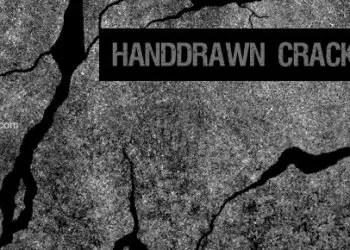 Hand Drawn Cracks