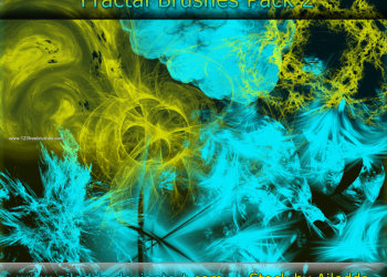 Abstract Glow Brushes Download