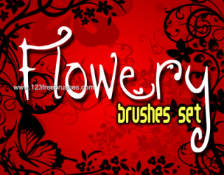 Floral Brushes In Photoshop Cs5