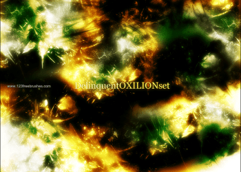 Abstract Light Brushes Gimp