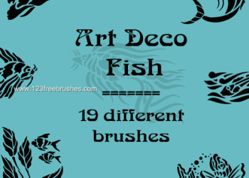 Art Deco Fish