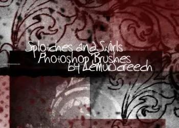 Splotches and Swirls