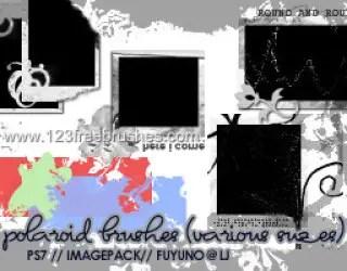 Polaroid Frames Set 4