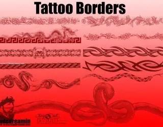 Tattoo Borders