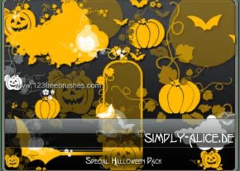Brushes De Halloween Para Photoshop
