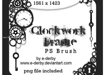 Clockwork Frame