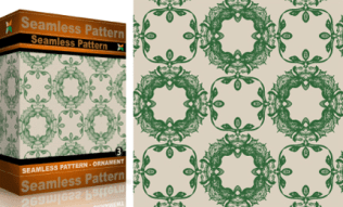 Vol.3 : Vector Seamles Pattern Ornaments