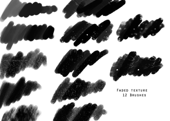 Textured Paint Stroke