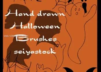 Free Halloween Photoshop Cs3 Brushes Photoshop