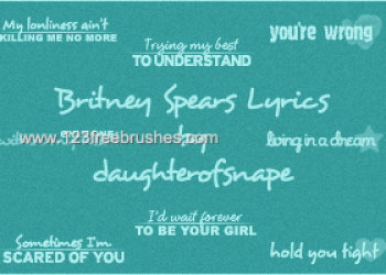 Britney Spears Lyrics