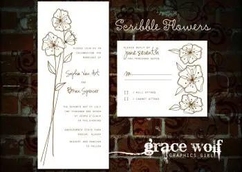 Scribble Flower