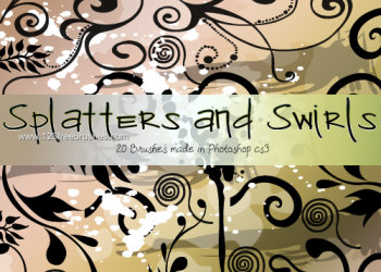Swirls and Splatters