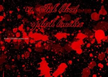 Ink Blood Splat