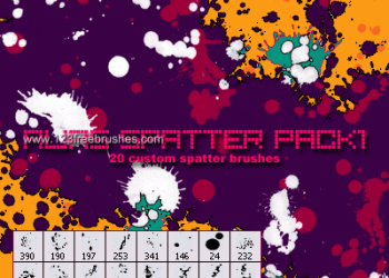 Spatter Pack 1
