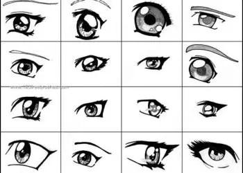 Anime Eyes Brushes Photoshop