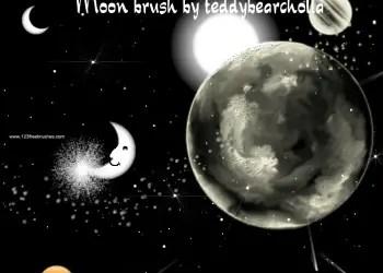 Moon Set 4