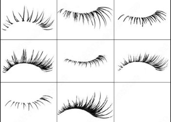 Eyelash Brushes for Photoshop