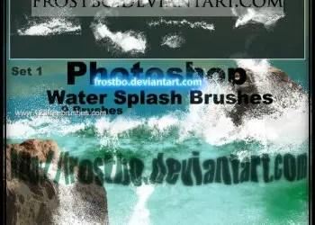Water Splash Set 1