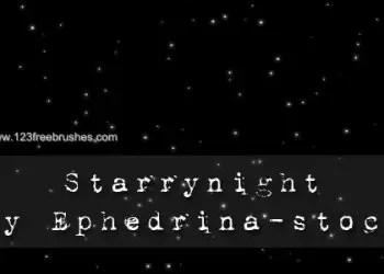 Starry Night Sky 6