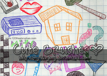 Doodle Children Drawing House