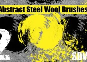Abstract Steel Wool