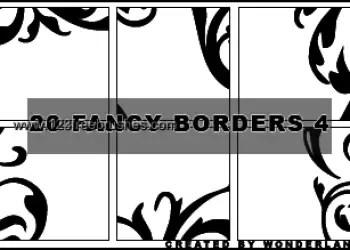 Fancy Corner Borders