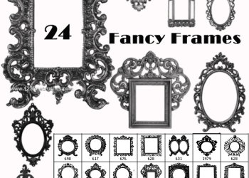 Fancy Vintage Borders